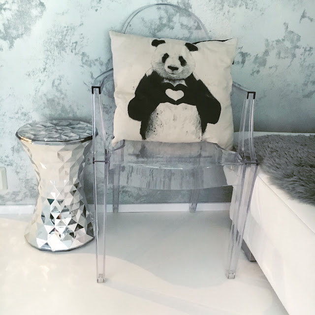Kartell stone chrome, Louis ghost