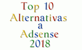 Top 10 alternativas a Adsense 2018