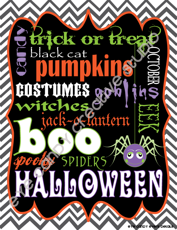 chevron, Halloween art, spider, free Halloween art, free Halloween subway art