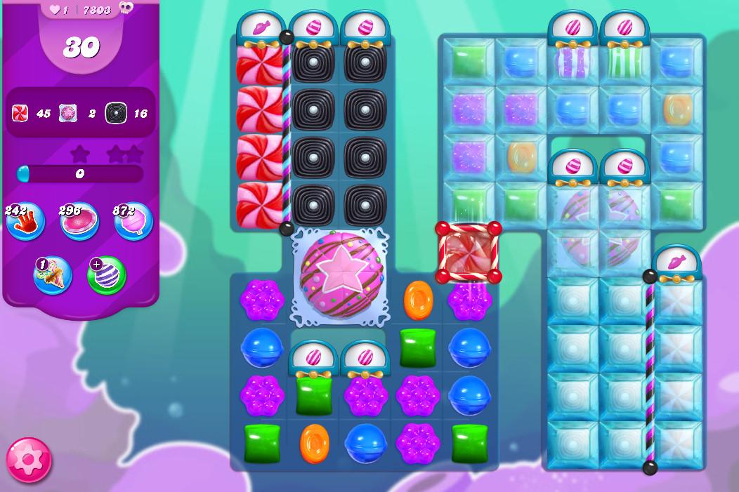 Candy Crush Saga level 7803