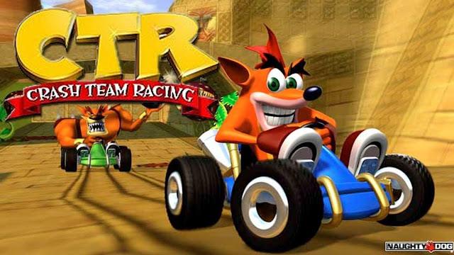 سوني تشوق للكشف الرسمي عن ريميك لعبة Crash Team Racing ، لنشاهد من هنا ..