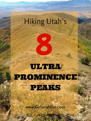 Hiking Utah's 8 Ultra Prominence Peaks