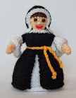 Catherine of Aragon Doll Knitting Pattern