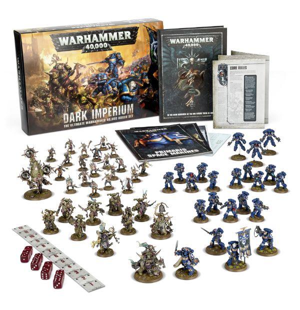 Wayland Games: New Warhammer 40K: Dark Imperium Starter Stocked