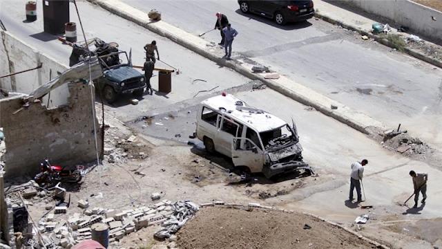 BOM Ledakkan Pintu Masuk Peziarah Syiah di Damaskus
