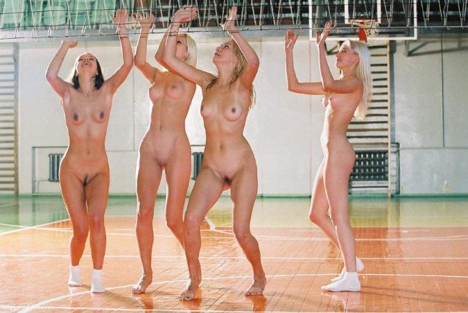 Nude Vollyball Players 53