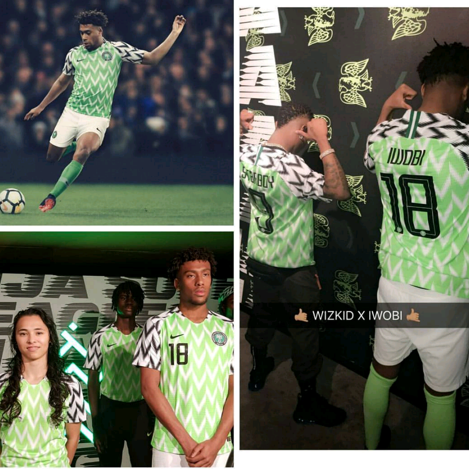 d6f06dd733e The Super Eagles  2018 World Cup kits have been unveiled by Nike and the  Nigeria Football Federation (NFF). Nike is the official kits sponsor of  Nigeria s ...