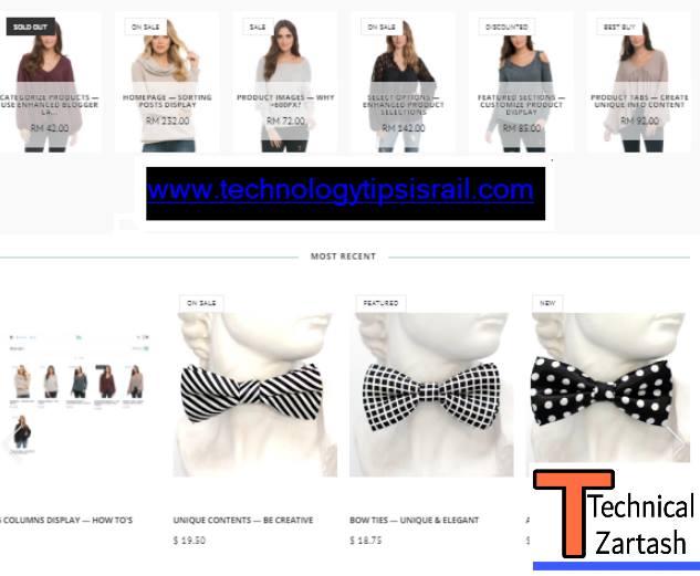 Ecommerce Website Templates Hindi me