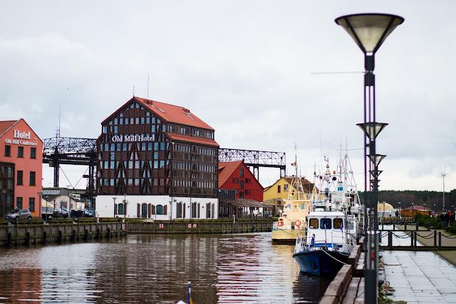 Kłajpeda; Litwa; Lietuva; Klaipeda; Lithuania; port; morze; statki; old mall hotel;