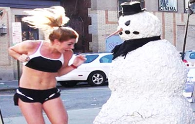 Best Scary Snowman Prank Compilation – FUNNY VIDEO
