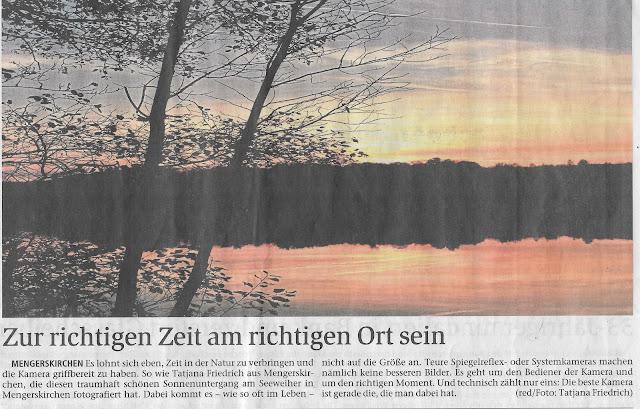 Sonnenuntergang in Mengerskirchen