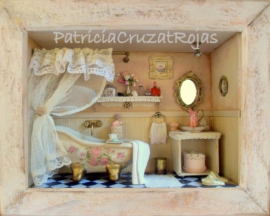 patricia cruzat artesania y color ba o rustico y