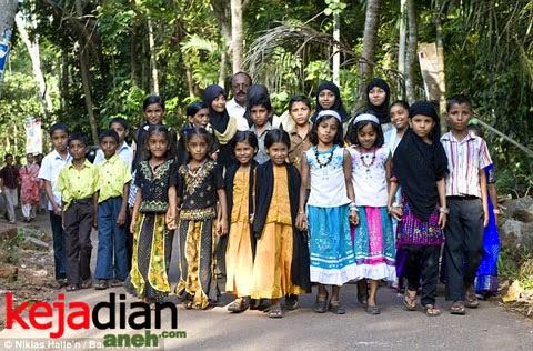 Fenomena Penduduk Kembar Terbanyak Di Kodinhi India