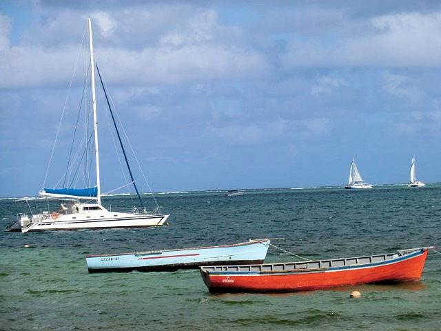 Segeln auf Mauritius (C) JUREBU