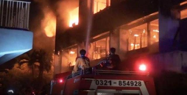 Kebakaran Universitas Darul Ulum