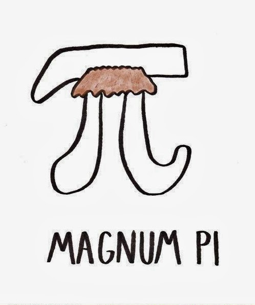 Funny Mustache Joke Puns - Tom Selleck Magnum PI maths pun
