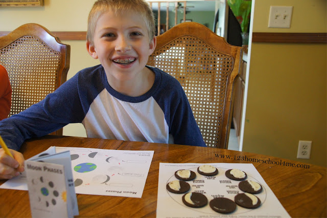 moon phases worksheets for kids