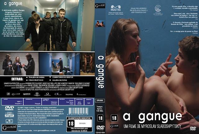 Capa DVD A Gangue