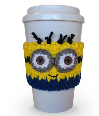 Minion Coffee Cup Cozy