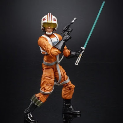 Star Wars Celebration 2017 Exclusive X-Wing Pilot Luke Skywalker 40th Anniversary Black Series Action Figure
