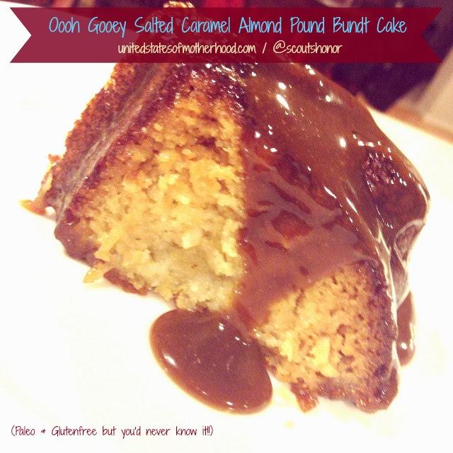 Paleo Golden Pound Cake Twinkles