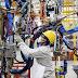 Átmeneti az ipari termelés csökkenése