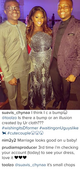 Are you pregnant? Check out Toolz Demuren's reply to fan