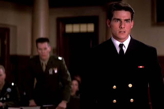 Tom Cruise in Rob Reiner's A Few Good Men