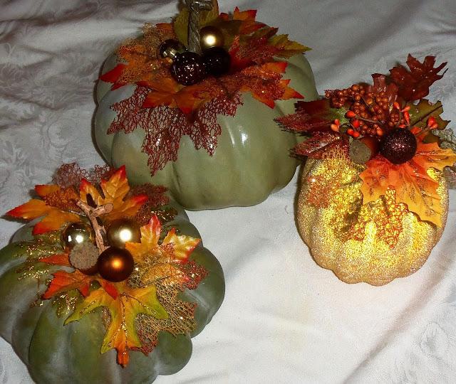 Pumpkins Embellished