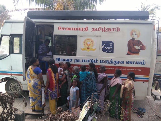 Sevabharathi's free medical service completes 1000th camp in Chennai