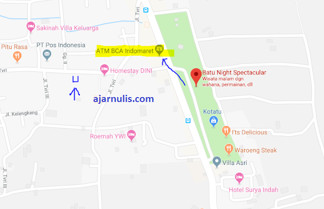 Titik Jemput Ojek Online Gojek-Grab di BNS Batu-Malang