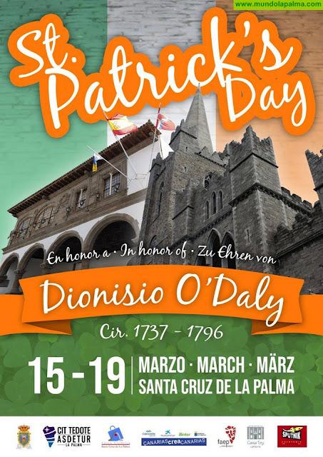 Programación Día de San Patricio en Santa Cruz de La Palma 2018
