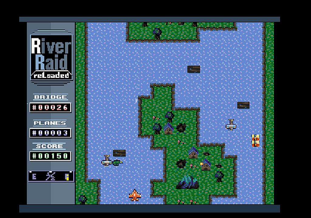 Indie Retro News: RiverRaid Reloaded - A new River Raid