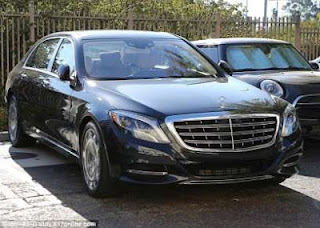 Kylie Jenner's Mercedes Maybach