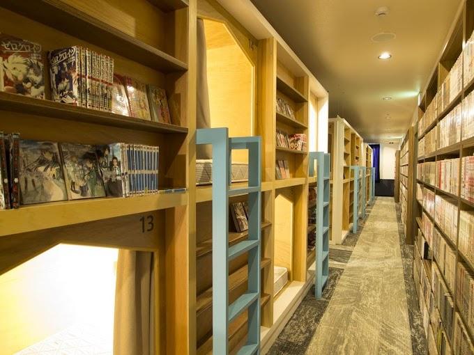 【漫畫膠囊】住進二次元空間 京都Comics and Capsule Hotel
