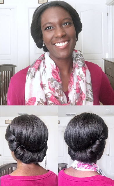 An Easy & Elegant Updo For Holiday Parties | A Relaxed Gal