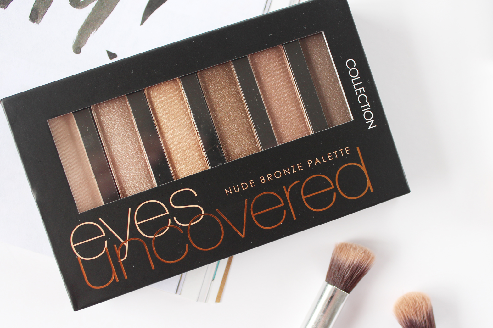 COLLECTION | Eyes Uncovered Nude Bronze Palette - Review + Swatches - CassandraMyee