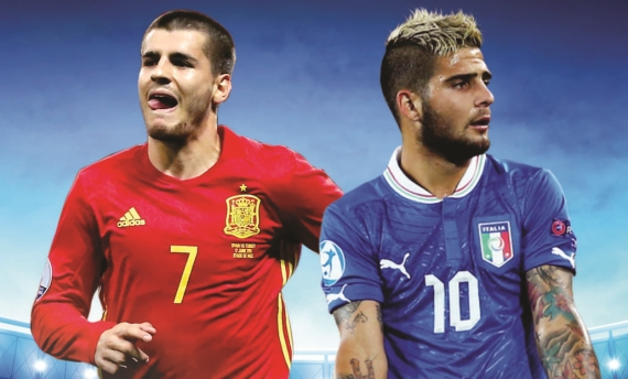 Spain and Italy go head-to-head in what is arguably the biggest tie of the weekend!