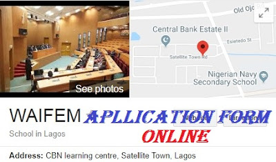 West African Institute for Financial and Economic Management Recruitment 2018/2019 | Registration Form