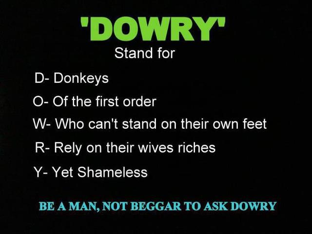 How to Prevent Dowry in India? (6 suggestions)