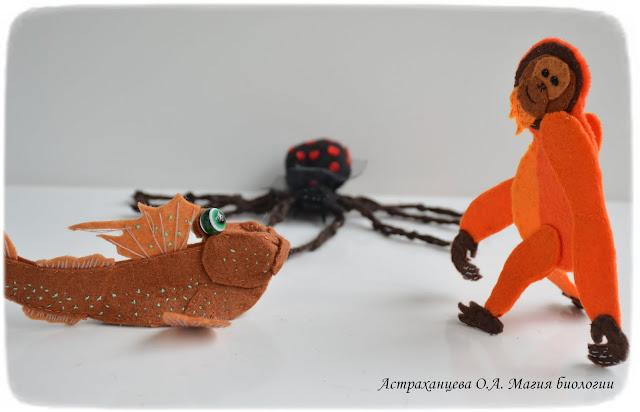 palchikovye-igrushki-pauk-karakurt-orangutan-ilistyj-prygun
