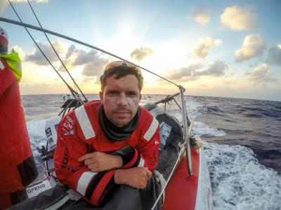 Thomas Rouxel embarque avec Brunel sur la Volvo Ocean Race