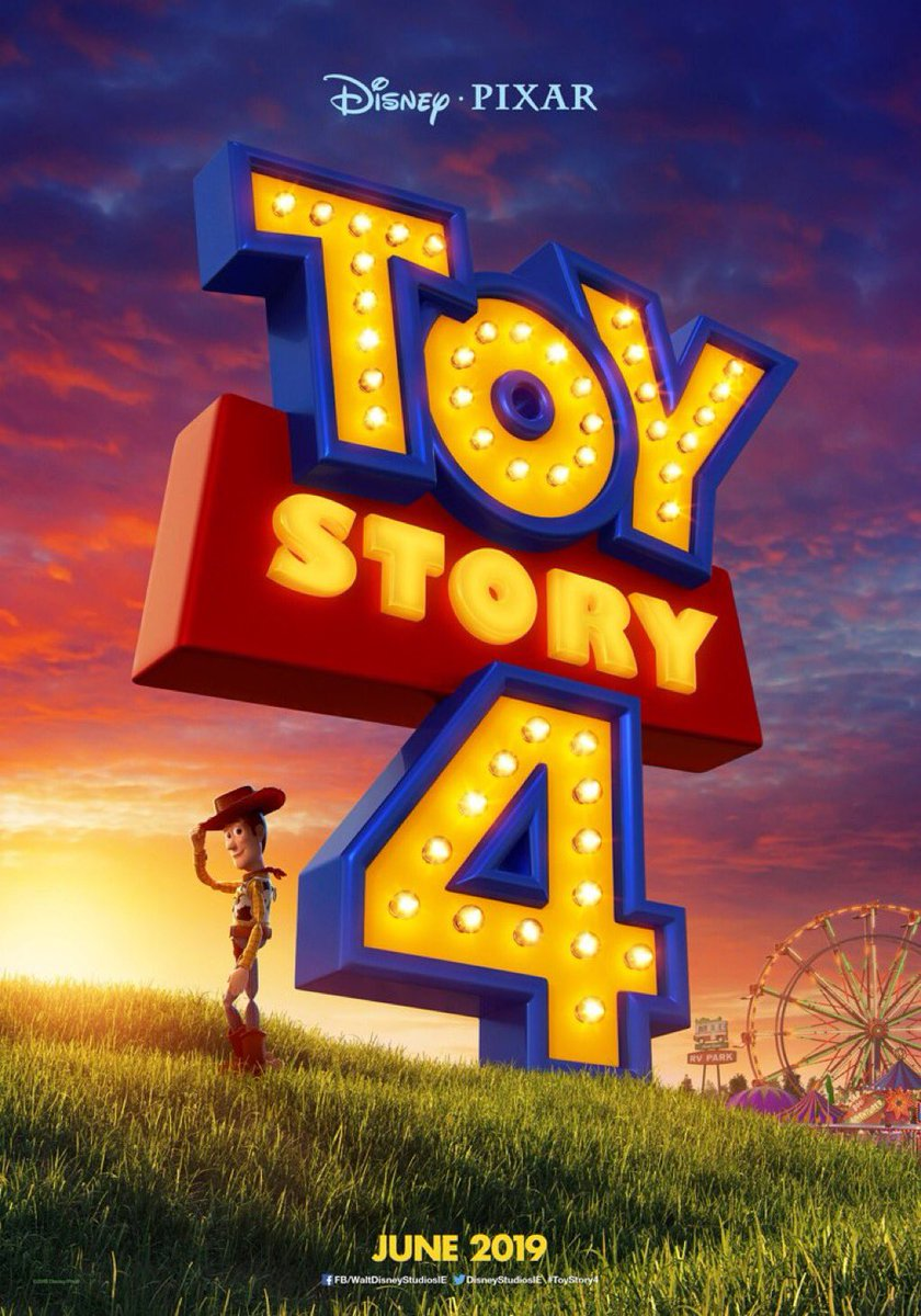 International U0026#39;Toy Story 4u0026#39; Teaser Poster Shows Woody Outside An RV Park And Carnival | Pixar Post