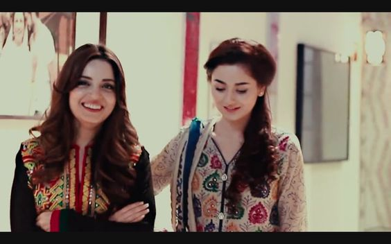 Hania Amir With Armeena Khan