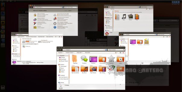 Ubuntu Skin Pack for windows 8/8.1