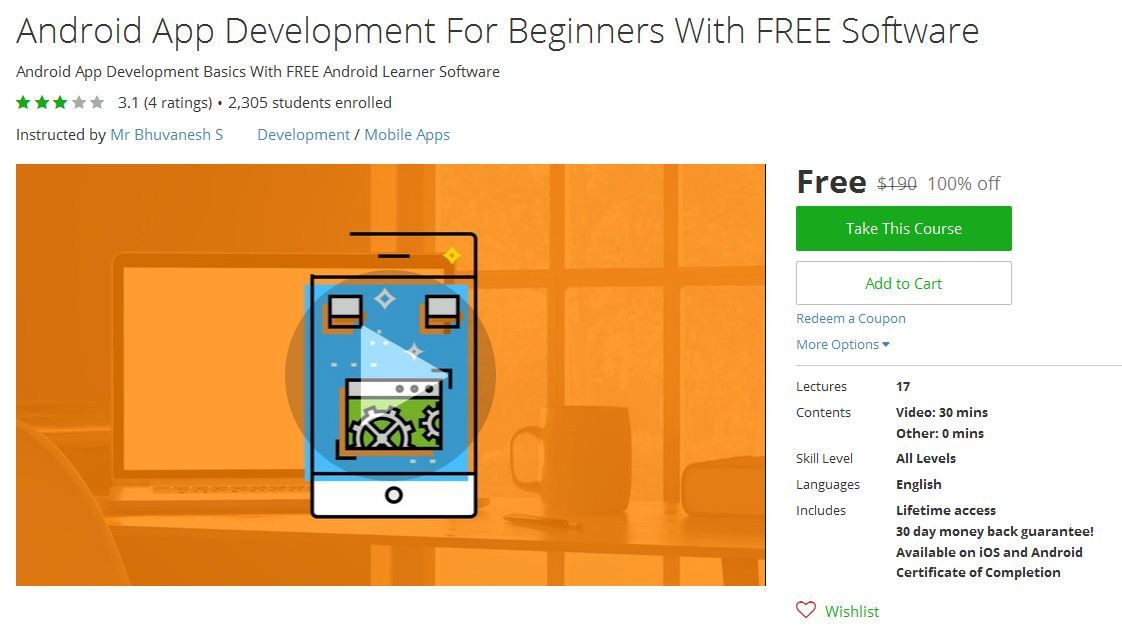 free courses on udemy