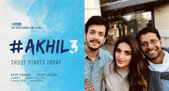 Akhil Akkineni, Nidhhi Agerwal Next upcoming hindi movie Akhil 3 2018 film Wiki, Poster, Release date, Songs list wikipedia