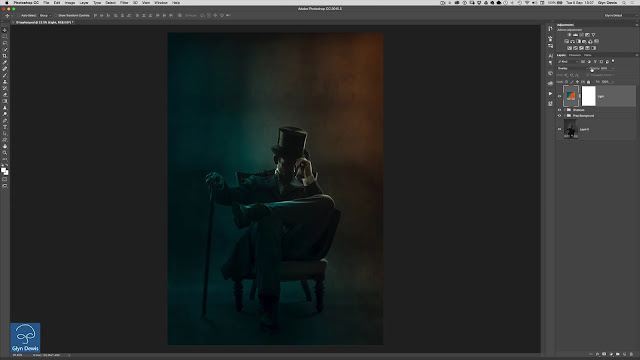 Awesome Atmosphere with Photoshop Gradients