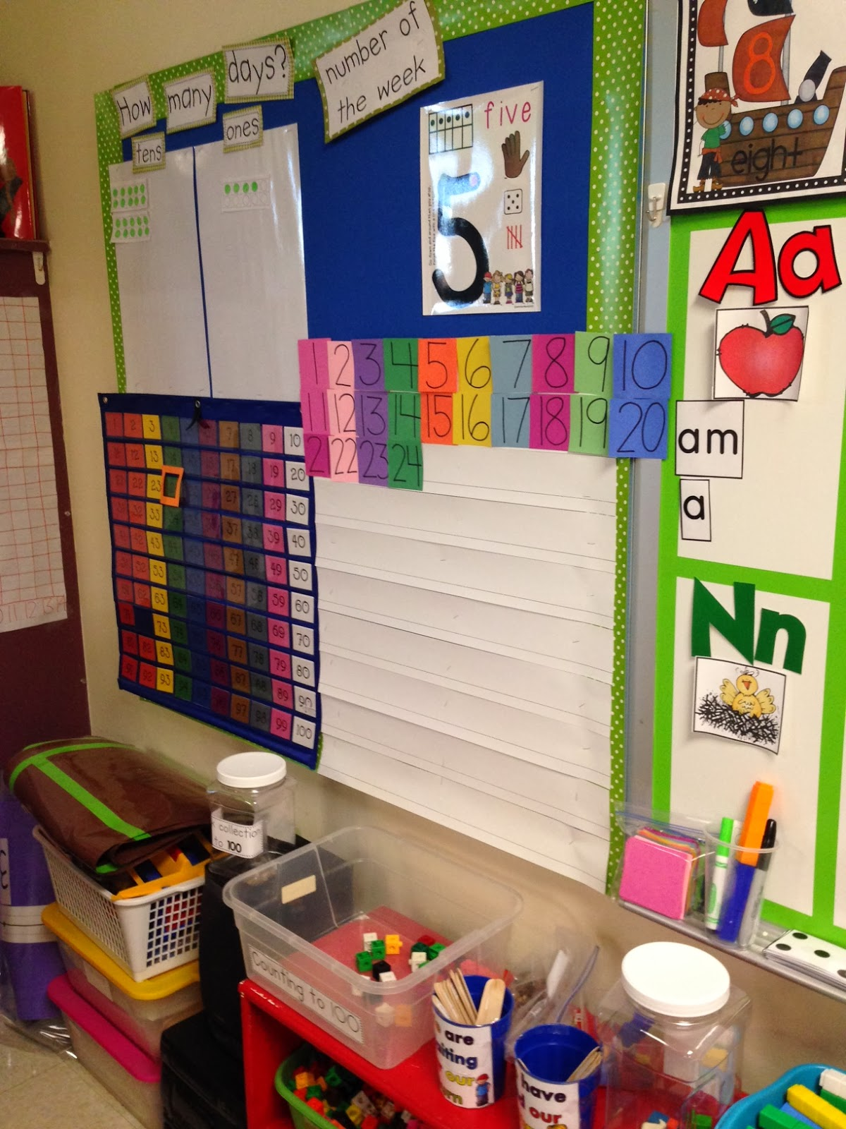 Chalk Talk A Kindergarten Blog Daily Math Routines Board