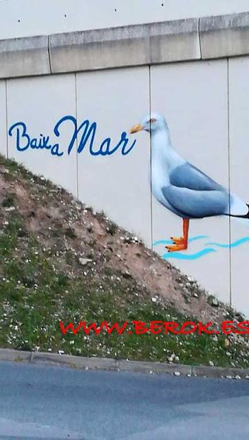 Pont Baix a Mar Cubelles graffiti